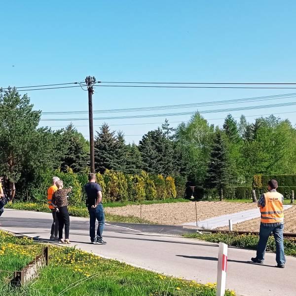 Wizja lokalna celem ustalenia lokalizacji i warunków budowy nowego przystanku kolejowego